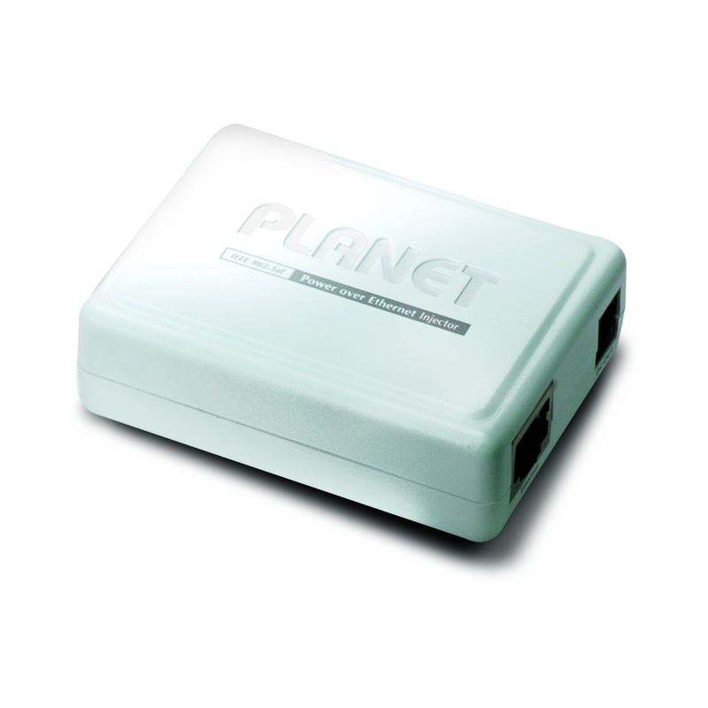 Planet Gigabit Single Port Power over Ethernet Injector