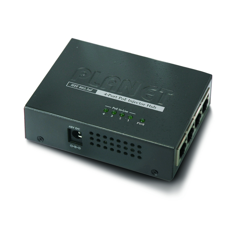 PLANET 4 Port Power over Ethernet Hub